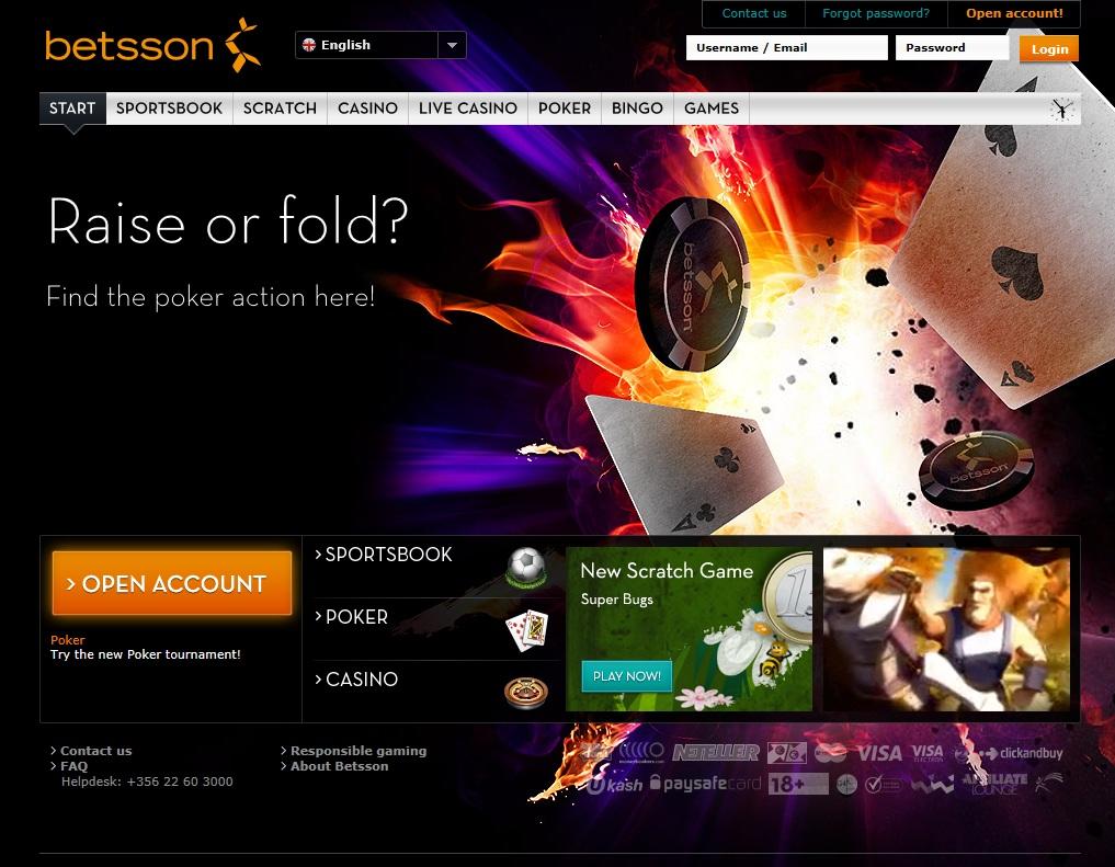 casino betting website